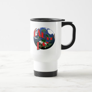 Earth day awareness, promotional travel mugs & cup