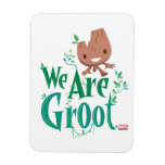 Earth Day Baby Groot Magnet