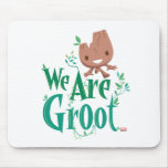 Earth Day Baby Groot Mouse Pad