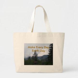 Earth Day Canvas Bag
