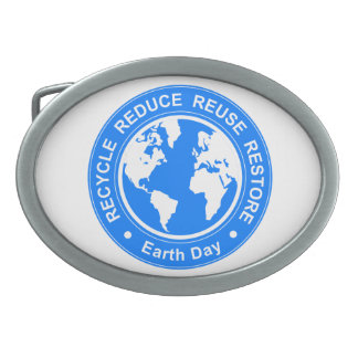 Earth Day Belt Buckles