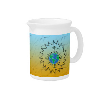 Earth Day Beverage Pitcher