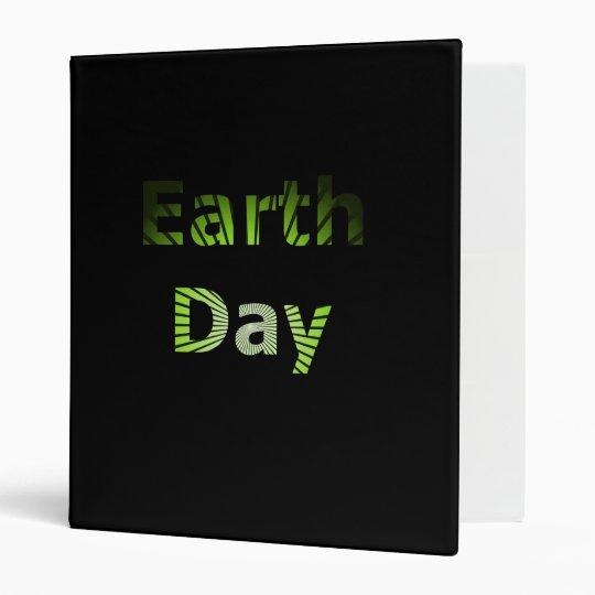 Earth Day Binder