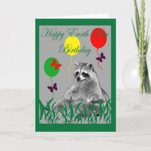 Earth Day Birthday Card