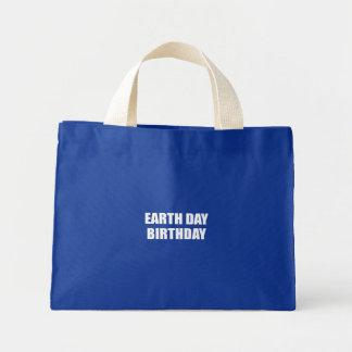 EARTH DAY BIRTHDAY MINI TOTE BAG