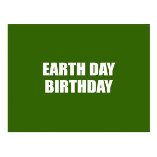 EARTH DAY BIRTHDAY POSTCARD