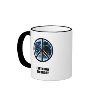 EARTH DAY BIRTHDAY RINGER MUG