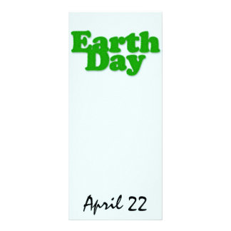 Earth Day Bookmark Rack Card