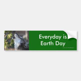 earth day bumper stickers