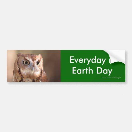earth day bumper sticker