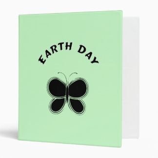 Earth Day Butterfly Binder