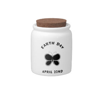 Earth Day Butterfly Candy Jars