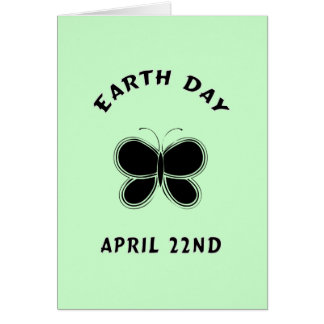 Earth Day Butterfly Card