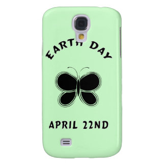 Earth Day Butterfly Samsung Galaxy S4 Cover