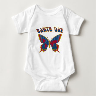 Earth Day Butterfly Infant Creeper
