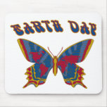 Earth Day Butterfly Mouse Pad