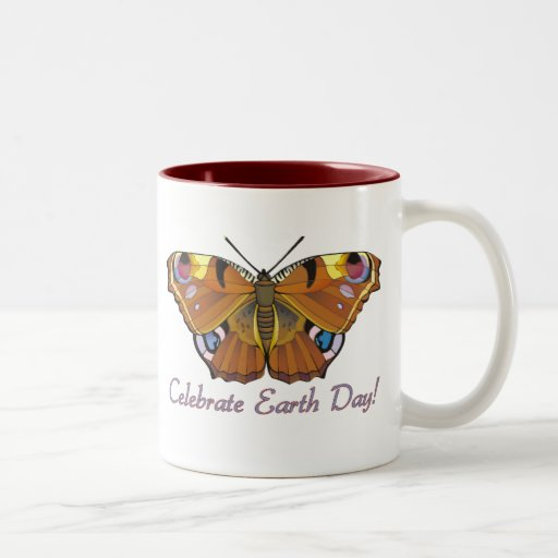 Earth Day Butterfly Mug