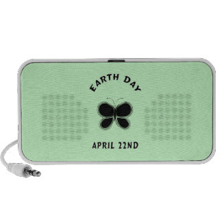 Earth Day Butterfly Notebook Speakers