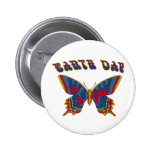 Earth Day Butterfly Pins