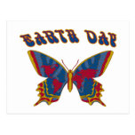 Earth Day Butterfly Post Cards