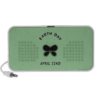 Earth Day Butterfly Speakers