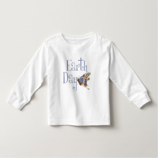 Earth Day Butterfly Toddler T-Shirt