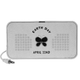 Earth Day Butterfly Travel Speakers