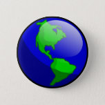 "Earth Day Button<br><div class=""desc"">A button for those who care about our planet.</div>"