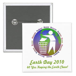 Earth Day Button