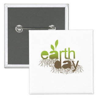 EARTH DAY - BUTTON