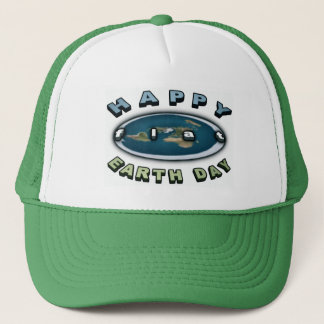 Earth day cap Happy FLAT earth day cap