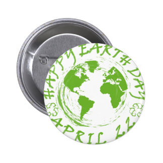 Earth Day Celebration 1 Button