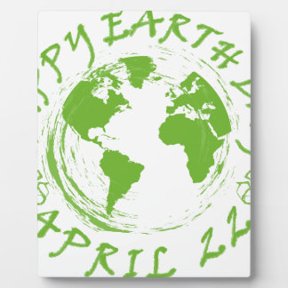 Earth Day Celebration 1 Plaque