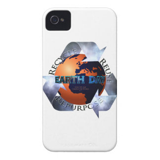Earth Day Change The World iPhone 4 Case