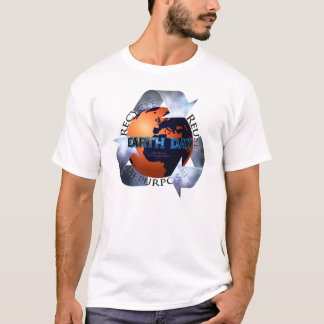 Earth Day Change The World T-Shirt