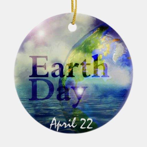 Earth Day Christmas Ornament