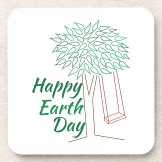 Earth Day Drink Coasters