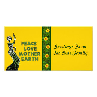 Earth Day Dancer Card