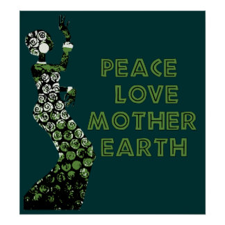 Earth Day Dancer Poster