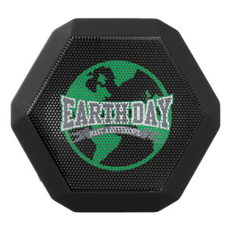 Earth Day Difference Black Bluetooth Speaker