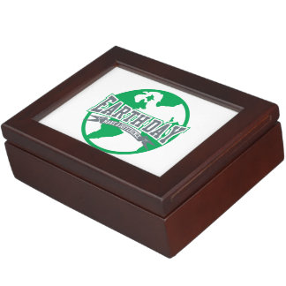 Earth Day Difference Keepsake Box