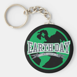 Earth Day Difference Key Chains