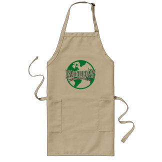 Earth Day Difference Long Apron