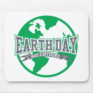 Earth Day Difference Mouse Pad