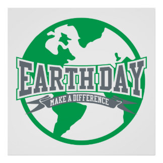Earth Day Difference Poster