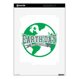 Earth Day Difference Skins For The iPad 2