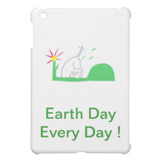 Earth Day Dog Digging iPad Mini Case