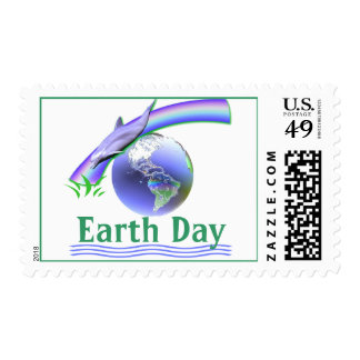 Earth Day Dolphin Stamps