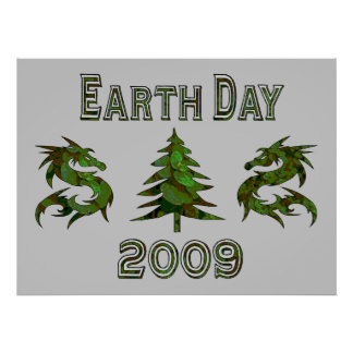 Earth Day Dragons 2009 Poster