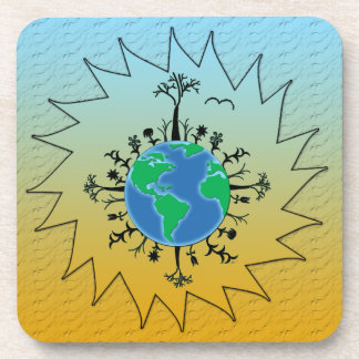 Earth Day Drink Coaster